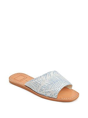 ce4765214 Dolce Vita Cato Denim Sandals | Spring 2019 in 2019 | Sandals, Denim ...