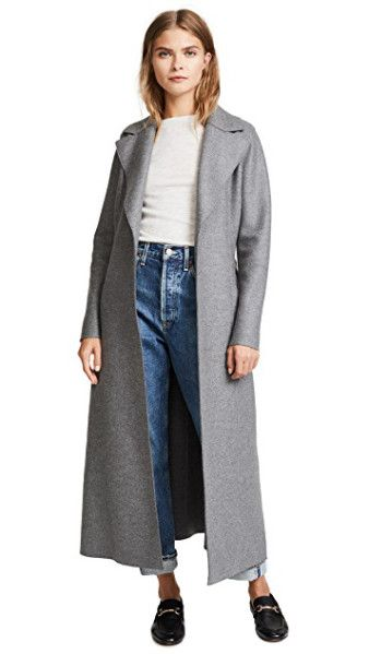 Ankle Length Coats Harris Wharf London Long Duster Coat Coat Long Duster Coat Ankle Length