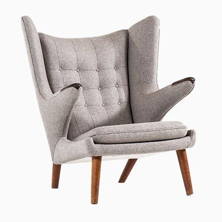 Papa Bear Chair By Hans J Wegner For A P Stolen 1950s In 2020
