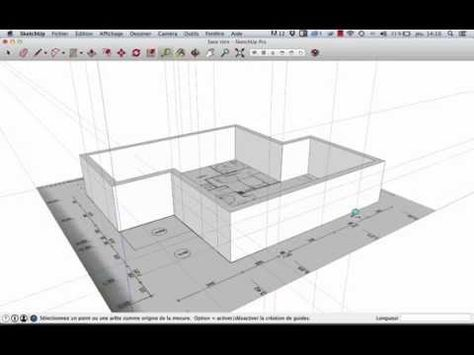 11 best DAO Sketchup images on Pinterest DIY, 3ds max and A house - Logiciel Pour Dessiner Plan Maison Gratuit