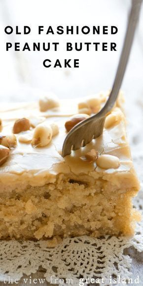 Fashioned Peanut Butter Cake Pour hot peanut butter frosting on warm cake, top with roasted peanuts. or try Reese's Pieces candies instead!Pour hot peanut butter frosting on warm cake, top with roasted peanuts. or try Reese's Pieces candies instead! Peanut Butter Sheet Cake, Peanut Butter Desserts, Peanut Cake, Old Fashioned Peanut Butter Cake Recipe, Peanut Butter Icing, Peanut Recipes, Peanut Butter Muffins, Peanut Butter Brownies, Homemade Peanut Butter
