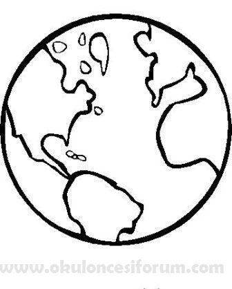 Dunya Cocuklari 23 Nisanda Okul Oncesi Etkinlikleri Gezegenler Boyama Sayfalari Okul Oncesi