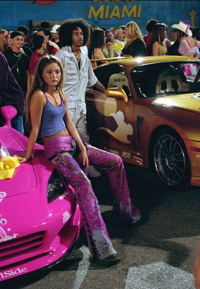 Still of Ludacris/Tej and Devon Aoki/Suki in 2 Fast 2 Furious