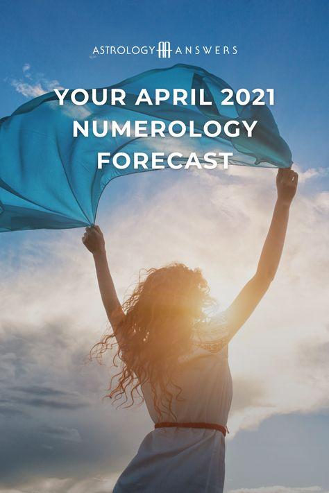 What does the numerology of April 2021 have in store for you, based on your Personal Month number? Written by our friends at @numerologistcom 🔮 #numerology #numerologist #aprilnumerology