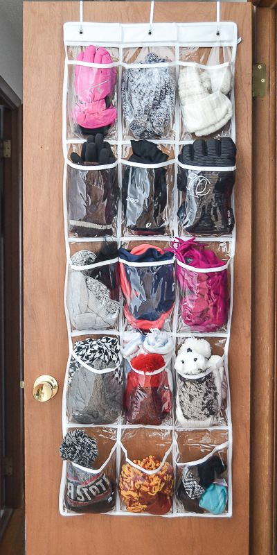The Best Way To Organize Hats Gloves Scarves This Winter