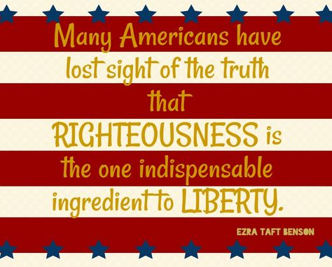"""The 12th Article of Faith states, """"We believe in being subject to kings, presidents, rulers, and magistrates, in obeying, honoring, and sustaining the law."""" In honor of the Fourth of July we have compiled 10 patriotic quotes from various leaders of The Church of Jesus Christ of Latter-day Saints: 1. Joseph Smith 2. Gordon B. …"""
