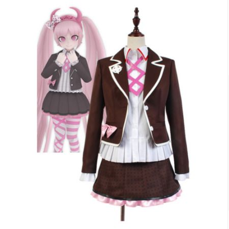 Danganronpa Another Episode Kotoko Utsugi Dress Outfit Cosplay Cosutme /&