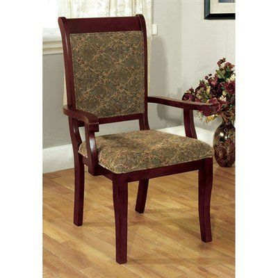 St Nicholas Transitional Chair With Arms Set Of 2 Comes In Antique