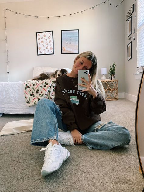 Indie Outfits, Teen Fashion Outfits, Retro Outfits, New Outfits, 90s Style Outfits, Trendy Teen Fashion, Cute Vintage Outfits, 90s Inspired Outfits, Cozy Fashion