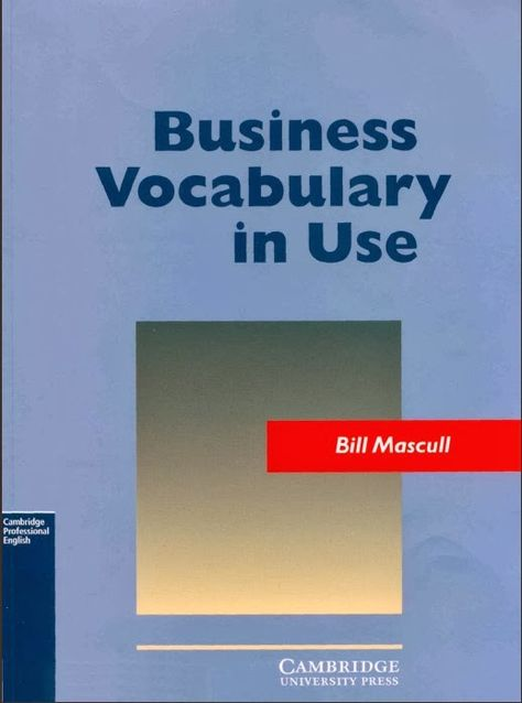 Business Vocabulary In Use Books Ebooks Livres Education