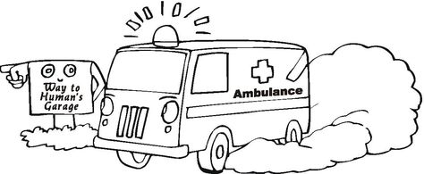 ambulance coloring pages ambulance lost in her way coloring pagejpg vbs ideals pinterest ambulance printable crafts and color pictures - Ambulance Coloring Pages Print