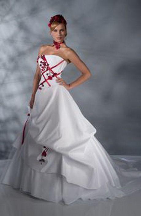 Robe Mariee Rouge Et Blanche Fashion En 2019 Robe Mariée