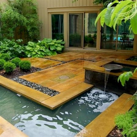 Beautiful Garden Design Ideas For Small Space 737 Decoor Gardeningdesign Water Features In The Garden Small Garden Design Modern Landscaping