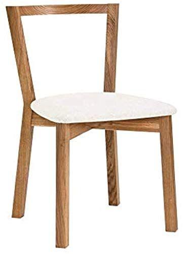Bmg Moebel Esszimmerstuhl In Eiche Weiss Gepolstert Diy Mobel Geschenkideen Furniture Esszimmerstuhl Eiche Stuhle Eiche