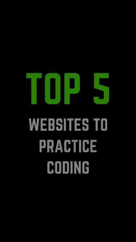 5 Best Websites to practice coding
