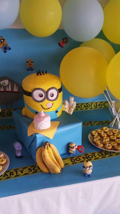 Minions Geburtstags Kuchen #Ich Einfach Unverbesserlich#