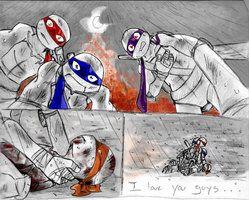 tmnt michelangelo dies   TMNT Mikey Sad   Art i Love   Tmnt mikey