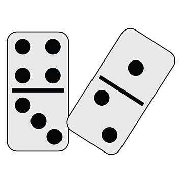 Couple Of Dominoes Black Domino Vector Png And Vector With Transparent Background For Free Download In 2021 Dominos Image White Dominoes Black Dominoes