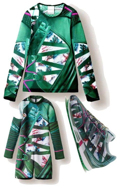 Mary Katrantzou x Adidas Originals Collection #marykatrantzou #adidasoriginals #fashion www.bliqx.net/...