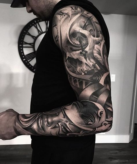 Tattoo sleeve designs, arm tats, skull tattoos, leg tattoos, body art t