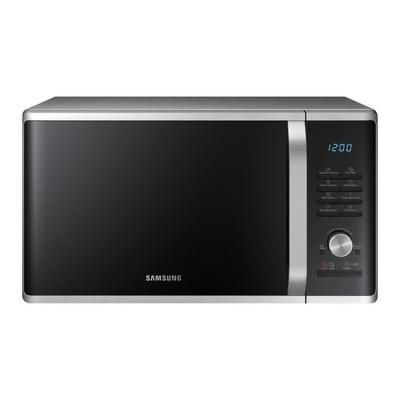 Samsung Ms28j5215as Micro Ondes Solo Argent 28l 1000w Pose Libre Micro Onde Grill Micro Onde Four Micro Onde