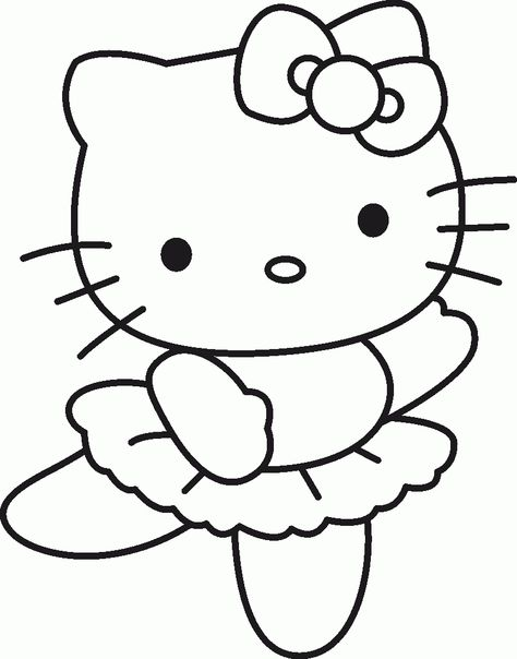 Free Printable Hello Kitty Coloring Pages Picture 5 550x770 Picture - fresh hello kitty ladybug coloring pages
