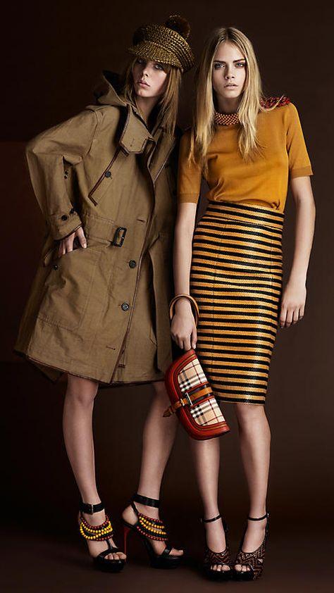 burberry love [clutch: 'contrast leather haymarket clutch']