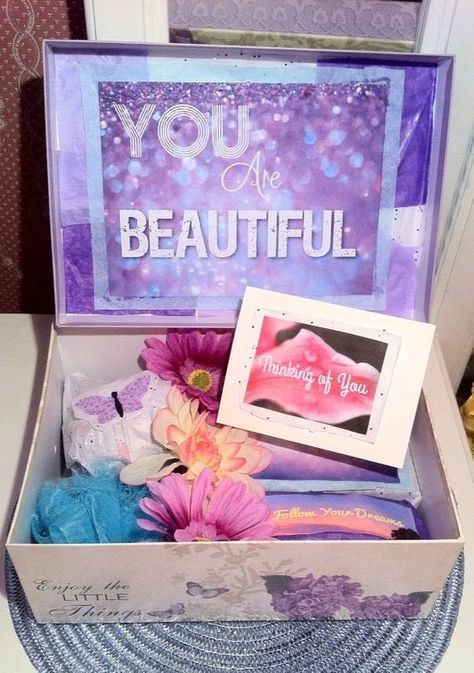 List Of Pinterest Cuve Diy Gifts For Girlfriend Care Packages
