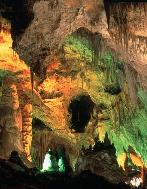 """Carlsbad Caverns, New Mexico, USA:   #holidayspots4u (""""1,000 Places to See Before You Die/ A Traveler's Life List"""" by Patricia Schultz)"""