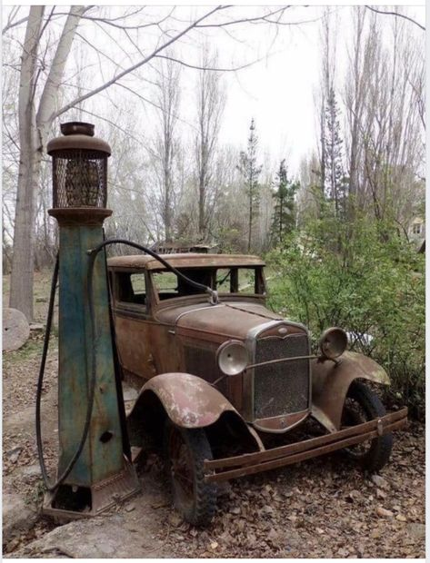 Outdated automobile and fuel pump. Legendary Outdated automobile and fuel pump. Legendary Outdated automobile and fuel pump. Abandoned Buildings, Abandoned Houses, Abandoned Places, Abandoned Vehicles, Old Vehicles, Abandoned Mansions, City Buildings, Military Vehicles, Ps Wallpaper