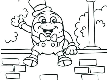 Free Making Learning Fun Humpty Dumpty Coloring Fairy Tales