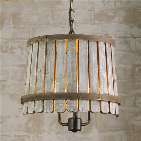 Bushel Basket Chandelier in 3 sizes and colors: white washed, blue and green!