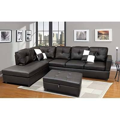 Top 10 Best Leather Couch Under 1000 In 2019 Reviews Sectional Ottoman Couch Leather Sectional