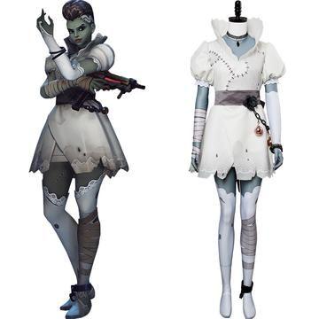 Sombre 2020 Halloween Overwatch Sombre Halloween Skin Cosplay Costume #overwatch
