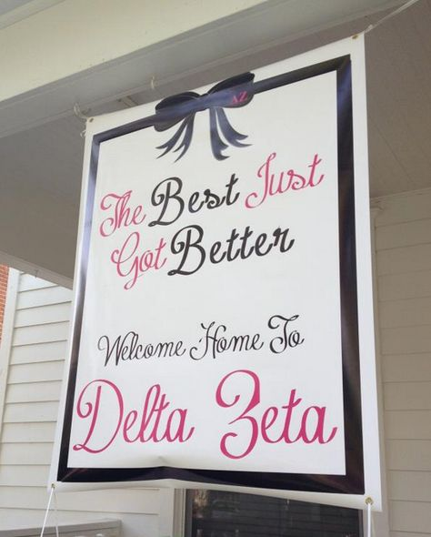 Banner the best just got better greek sorority recruitment more