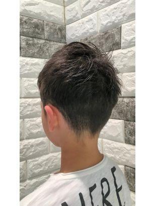 ボード 男の子のヘアスタイル のピン