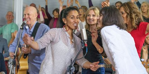 What is it about singing that can turn complete strangers into family?   #music #singing #wellbeing #community #UnimedLiving