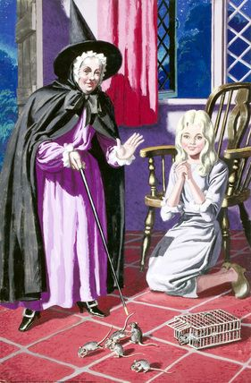 Fairy Godmother S Spell Cinderella Eric Winter Fairytale Art