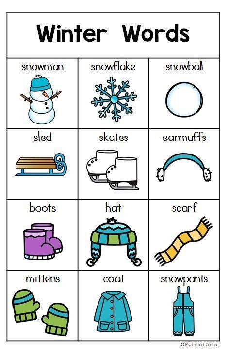 preschool winter activities and crafts