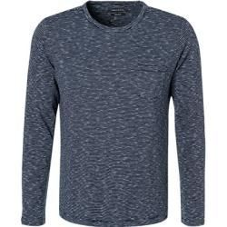 Marc O Polo Langarmhemd Herren Baumwolle Blau Marc O Polomarc O Polo Knitting There Are Several Models That You Can Apply I In 2020 Long Sleeve Shirt Men