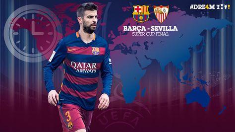 Barcelona vs Sevilla ¿A qué hora juegan la Supercopa de Europa 2015?