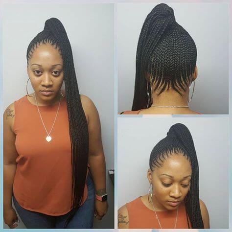22 Nigerian Fulani Black Braided Hairstyles 2018 To Copy Fashionuki Braids For Black Hair Braided Hairstyles African Hair Braiding Styles