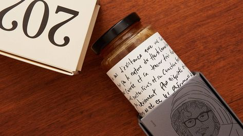 Miels d'Anicet Takes A Handwritten Approach