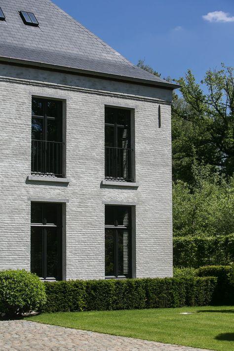 Domeinwoning Ramen Pinterest Fassaden, Klinker und Traumhäuser - haus renovierung altbau london wird vier reihenhauser verwandelt