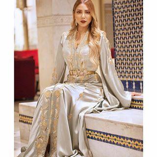 مساء الاناقة و الجمال قفطان مغربي From Yosra Saouff إطلالتي من مهرجان Mawazine من أنامل المبدعة دائما Sophia Benyahia Ka Chic Style Style Fashion