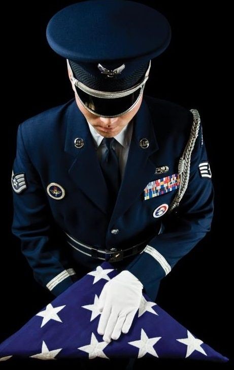 United States Air Force Honor Guard....Thank you for all that you did that day.  The Owens Family..