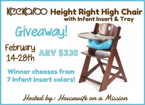 Giveaways Keekaroo High Chair Reviews