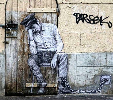 Levalet Straßenkünstler En 2019 Art De Rue Art Et Art