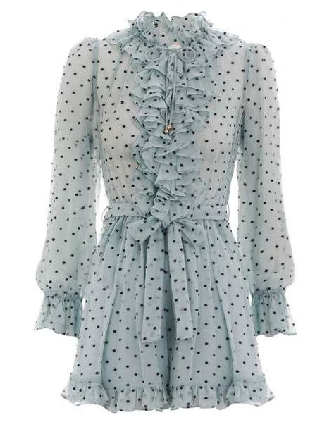 a4fd3305a3e Zimmermann Whitewave Ruffle Playsuit
