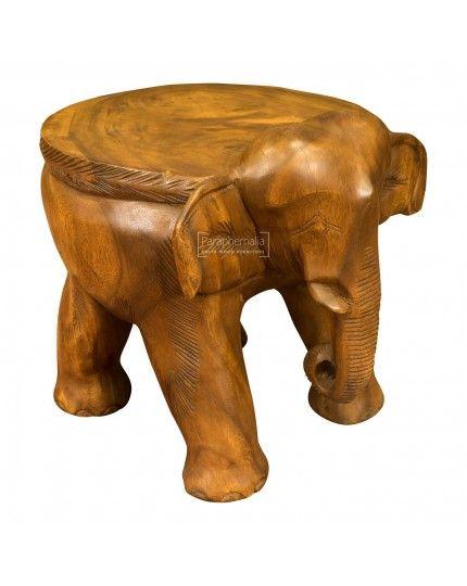 Monkey Pod Wood Elephant Stool Table Monkey Pod Wood Wood Stool